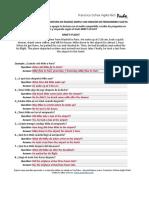 Lección 52 - Ejercicio de Escritura en Pasado Simple Con Omision de Pronombres Sujeto (1)