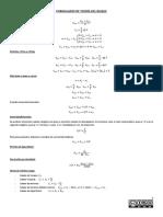 Formulario de Teoria Del Buque