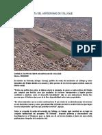 Venta Del Aeródromo de Collique - Pedro Amado Palacios