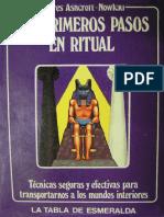 (Dolores Ashcroft-Nowicki) - Primeros Pasos en El Ritual