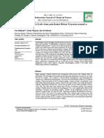 Aktivitas Katalitik P2O5-Zeolit Alam Pada Reaksi Hidrasi Terpentin Menjadi Α-Terpineol