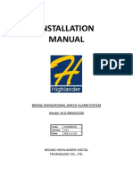 installation manual for BNWAS Highlander