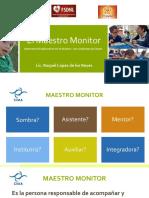 EL ROL DEL MAESTRO MONITOR
