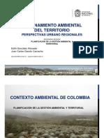 Planificación de La Gestión Ambiental y Territorial