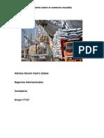 Informe Sobre El Comercio Mundial