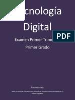 Tecnología Digital 1er Trimestre