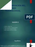 Peterminación del equilibrio trasnacional.pptx