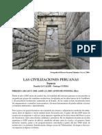 civilizaciones peruanas