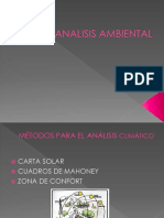 Analisis Control Ambiental