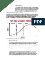 Ciclo de Vida Del Producto y Mezcla de Mercadotecnia (1)