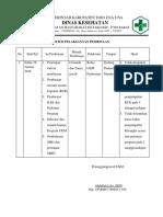 5.1.4.1 Buki Pelaksanaan Pembinaan Oleh Pj Ukm Kpd Pelaksana