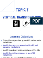 Topic 7 Vertical Transportation (2012) Stu 1