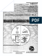 Earth retaining system