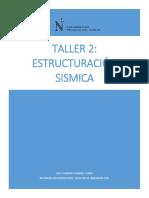 Taller 2 - Estructuración Sismica_joycy