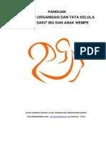 Panduan Struktur Organisasi Dan Tata Kelola Rs
