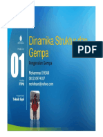 Presentasi 1 Dinamika Struktur Dan Gempa - Pengenalan Gempa [Compatibility Mode]