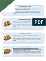 Alimentos Protectores y Beneficios