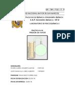 Informe 3 de Fiqui Presion de Vapor unmsm