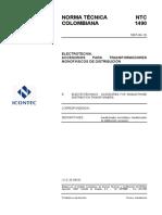 NTC 1490(Accesorios para trafos).PDF