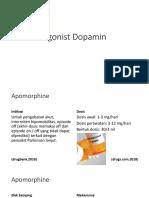 Agonist Dopamin
