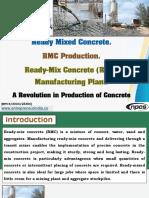 Ready Mixed Concrete. RMC Production