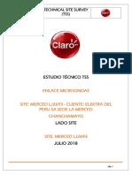 Tss Mw Site La Merced Lj2693- Cliente Elektra Del Peru Sa Sede La Merced