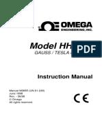 MAnual Book - Tesla Meter-M3685.pdf