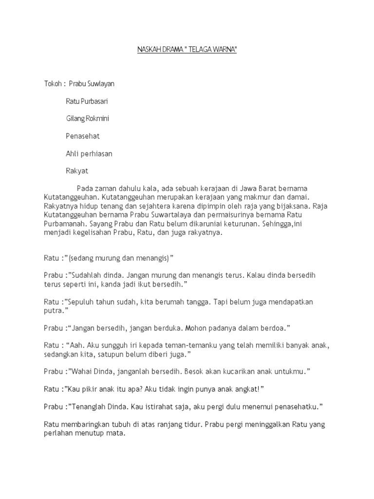 Naskah Drama Bahasa Jawa 6 Orang