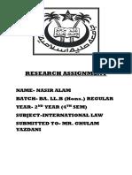 Nasir International Law
