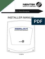Merlin installer manual