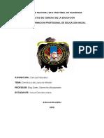 Universidad Nacional San Cristòbal de Huamanga. Ciencias Naturales