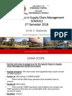 Scma311 Exam Scope
