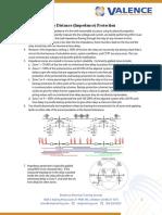 UnderstandingLineDistanceProtection_CheatSheet_ValenceElectricalTrainingServices