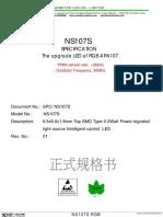 NS107S RGB Pixel LED datasheet