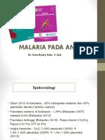 Malaria Pd Anak Dr. Irma SpA
