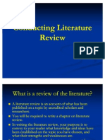 conducting literature review1