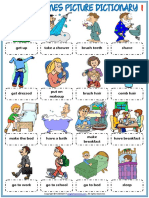 daily routines vocabulary esl picture dictionary worksheets for kids.pdf
