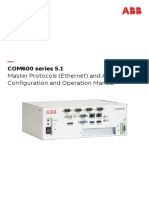 COM600 Series 5.1 Ethernet Communication Based Master Configuration and Operation Man 758689 ENb