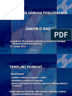 Prezentacija Zakon o Radu Za Studente EFOS Ozujak 2014