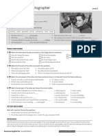 Aef2e Level 2 Video Worksheets and Teachers Notes
