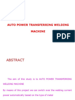 Auto Power Tranfer Weldind