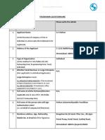 A) TM Questionnaire