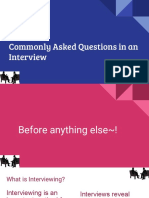 40 common interview questions