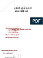 Chapter 4 Tinh Chat Nhiet Tinh The