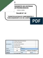 Identificacion de Componentes y Funcionamiento de Un Compresor