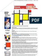 Piet Mondrian Lesson