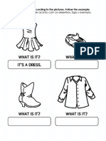 Ingles Fundamental Clothes Answer Questions 1