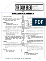 ODB - English Grammar