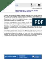 Le communiqué de presse de la mairie suite à l'effondrement de la rue d'Aubagne