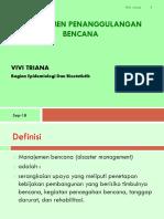5. Manajemen Bencana